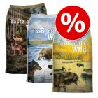 Super-blandpack: 3 x 6 kg Taste of the Wild hundfoder