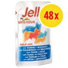 Super-Sparpaket Almo Nature Jelly 48 x 70 g
