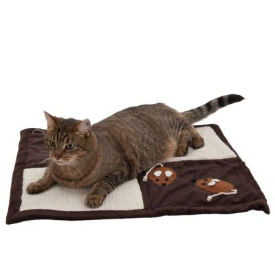 Patchwork Tapis A Griffer Pour Chat Zooplus