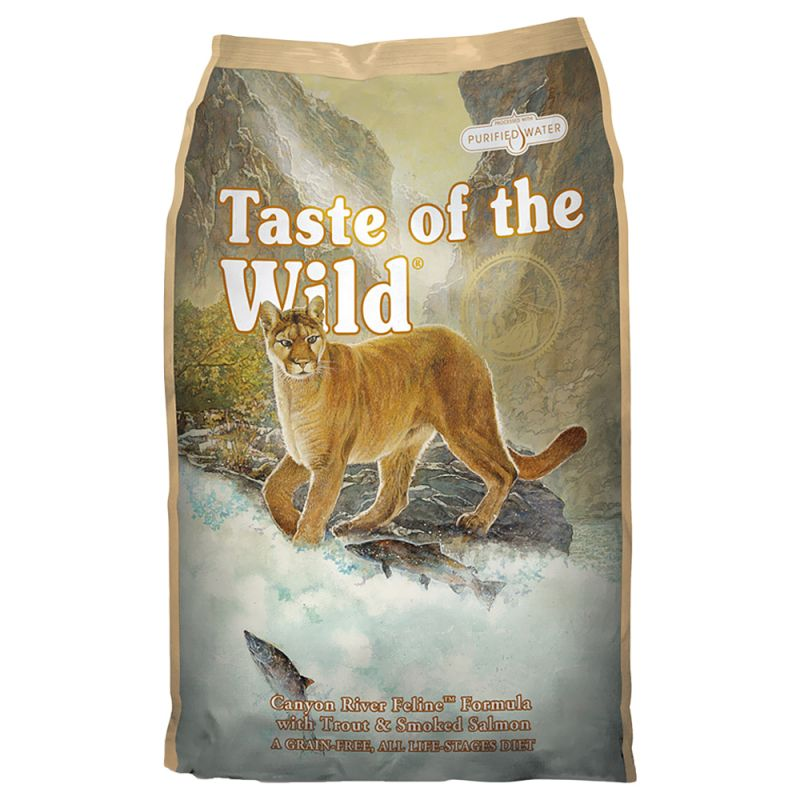 Taste of the Wild – Canyon River Feline