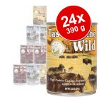 Taste of the Wild 24 x 390 g - Pack económico