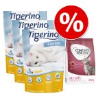 Testen: 3 x 5 l Tigerino Crystals + Concept for Life 400 g!