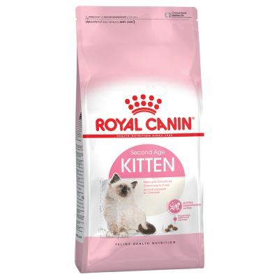 Testpaket: 2 kg Royal Canin Kitten 36 + je 400 g Concept for Life und Hill's
