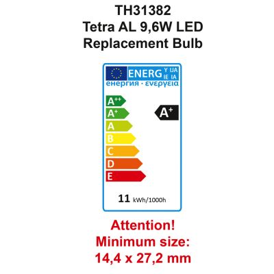 Tetra AquaArt LED akvarium komplett set 60 l