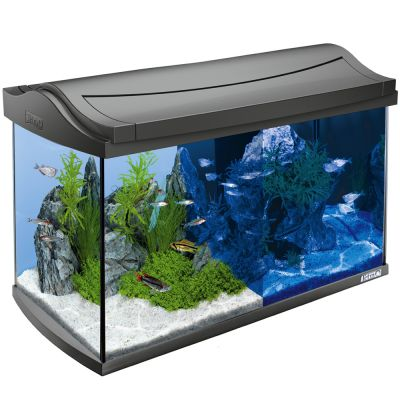 Tetra AquaArt LED Aquarium Komplett-Set 60 L anthrazit
