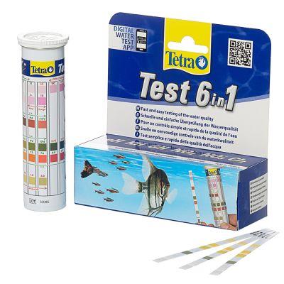 Tetra Test 6 In 1 Water Strips
