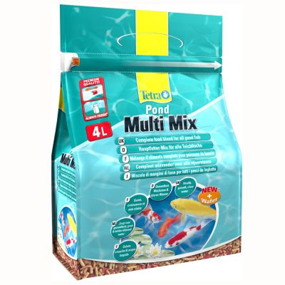 Tetrapond multi mix alimento para peces de estanque al for Comida para peces de estanque