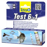TetraTest 6 in 1 vattentestremsor