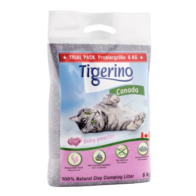 Tigerino Canada Cat Litter Babypowder Scent At Zooplus