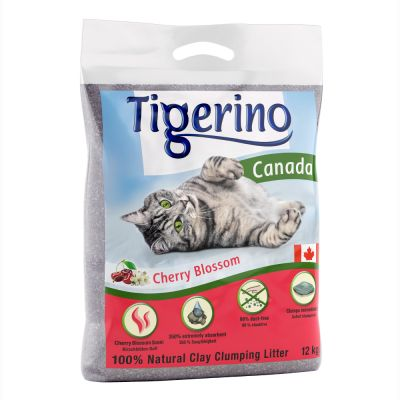 Tigerino Canada Cat Litter – Cherry Blossom Scented