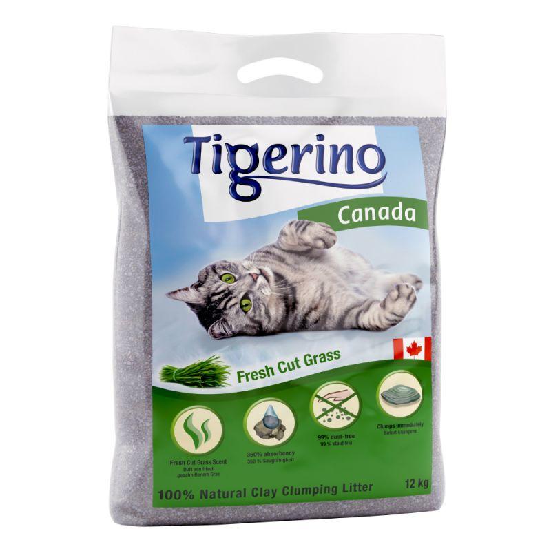 Tigerino Canada Cat Litter – Fresh Cut Grass