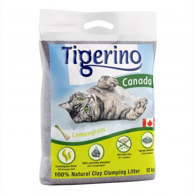 Tigerino Canada Cat Litter – Lemongrass Scented