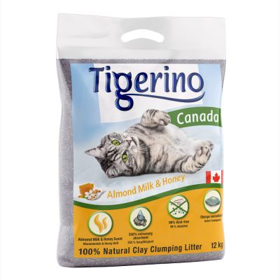 Tigerino Canada Cat Litter Limited Edition – Almond Milk & Honey Scented