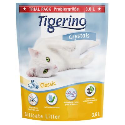 Tigerino Crystals Silicate Litter