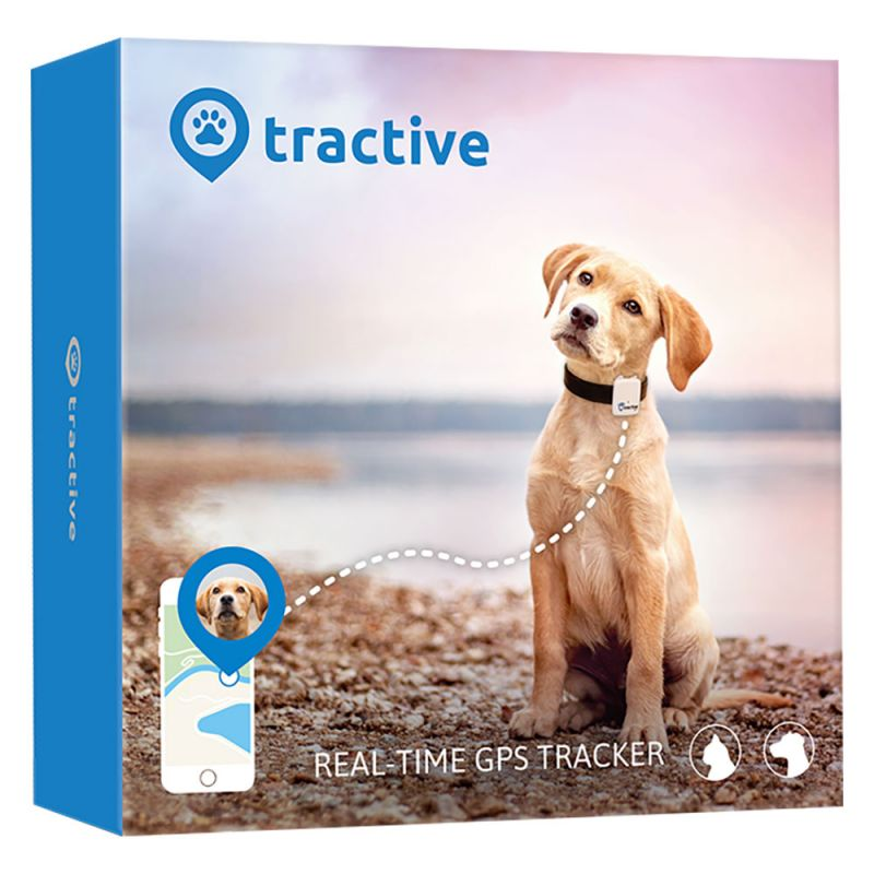 Tractive GPS Pet Tracker s neomezeným dosahem