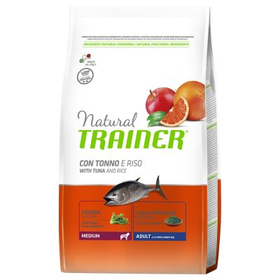 Trainer Natural Medium Adult Tonno & Riso