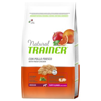 Trainer Natural Medium Puppy Junior Pollo Fresco Su Zooplus