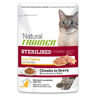 Trainer Natural Sterilised con Tacchino