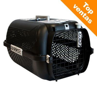 Transportín Catit White Tiger Voyageur Black