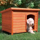 Trixie Natura Flat Roof Dog Kennel Classic