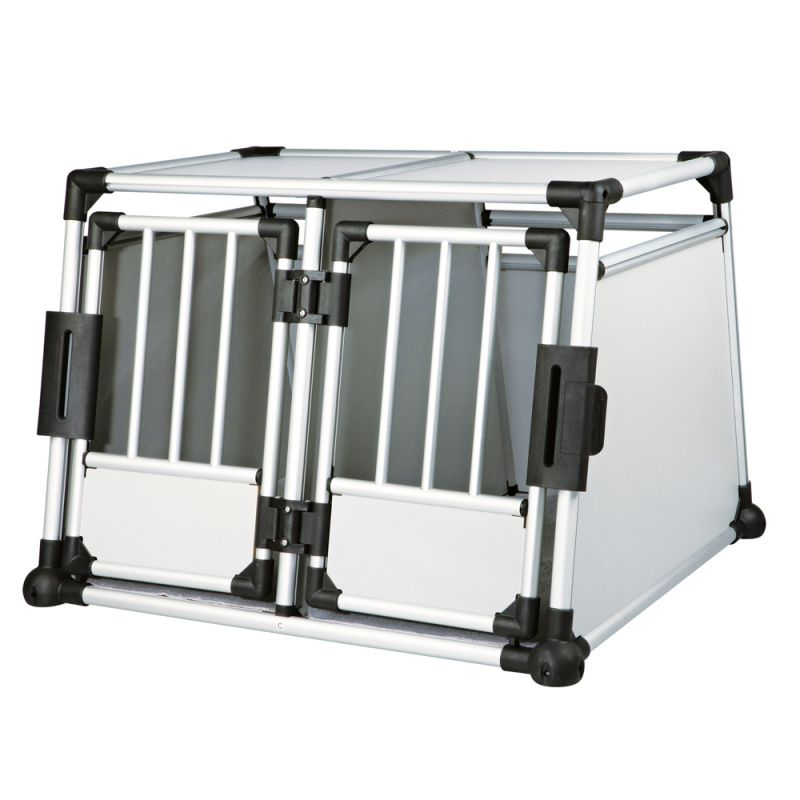 Trixie Aluminium -tuplakuljetuslaatikko