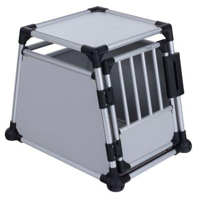 ee8e76da6d4df5 Cage de transport pour chien en aluminium Trixie | zooplus.be