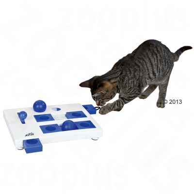 Trixie Cat Activity Brain Mover juego de inteligencia para gatos