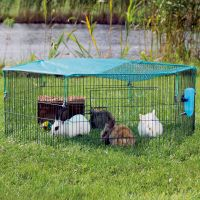 Trixie Young Animal Run with Protective Net