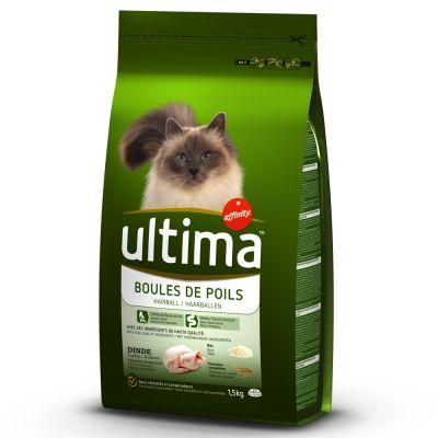 Ultima Cat Hairball - Truthahn & Reis günstig bei zooplus