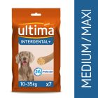 Ultima Interdental Medium-Maxi snacks para perros