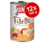 Varčno pakiranje RINTI Filetto 12 x 420 g