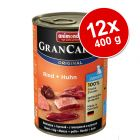 Varčno pakiranje Animonda GranCarno Original Junior 12 x 400 g