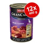 Varčno pakiranje Animonda GranCarno Original Senior 12 x 400 g