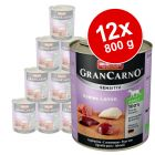 Varčno pakiranje Animonda GranCarno Sensitive 12 x 800 g