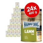 Varčno pakiranje Happy Dog Pur  24 x 400 g