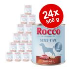 Varčno pakiranje Rocco Sensitive 24 x 800 g
