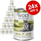 Varčno pakiranje Wolf of Wilderness Senior 24 x 400 g
