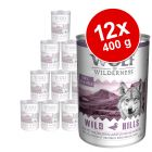 Varčno pakiranje Wolf of Wilderness 12 x 400 g
