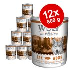 Varčno pakiranje Wolf of Wilderness 12 x 800 g