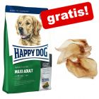 Velika vreća Happy Dog Supreme + Rocco goveđe uši gratis!