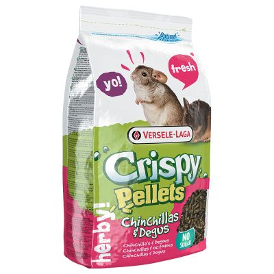 Versele-Laga Crispy Pellets para chinchillas y degús