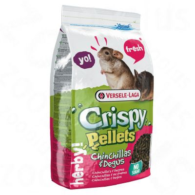 Versele-Laga Crispy Pellets pour chinchilla & octodon