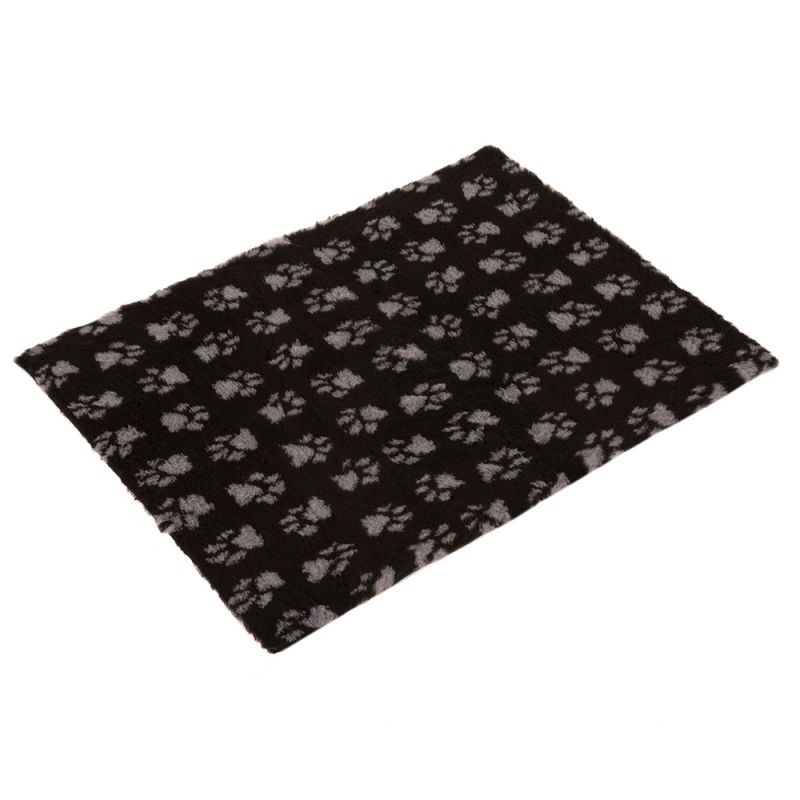 Vetbed® Isobed SL Paw Blanket - Black/Grey