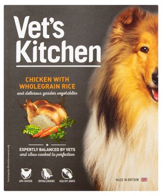 Vet's Kitchen Adult Chicken & Wholegrain Rice Wet Dog Food