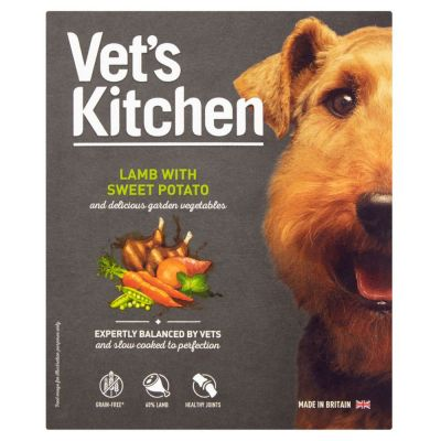 Vet's Kitchen Adult Grain-Free Lamb & Sweet Potato Wet Dog Food