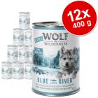 Výhodné balení Little Wolf of Wilderness Junior 12 x 400 g