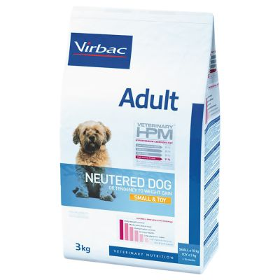 Virbac Veterinary HPM Adult Neutered Dog Small & Toy