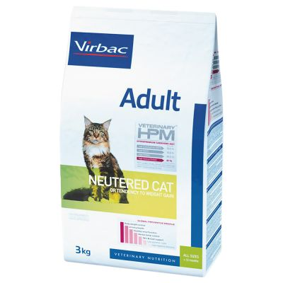 Virbac Veterinary HPM Cat Adult Neutered pour chat