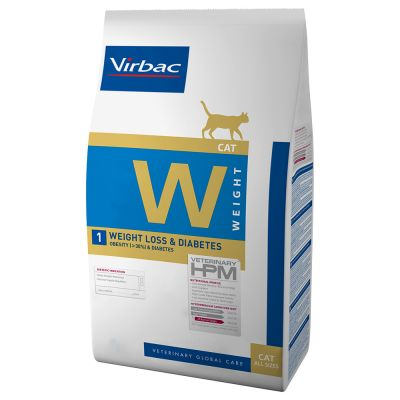 Virbac Veterinary HPM W1 Weight Loss & Diabetes pour chat