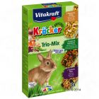 Vitakraft Trio-Mix Crackers pour lapin nain